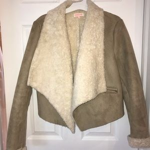 Jackets & Blazers - Faux fur and suede jacket